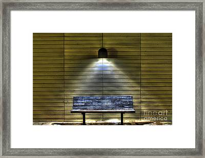 The Light Of Solitary  Framed Print