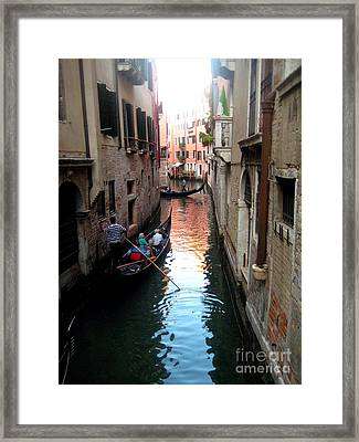 The Light Of Venice Framed Print by Europe  Travel Gallery
