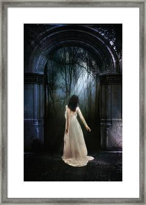 The Light That Awakens Framed Print