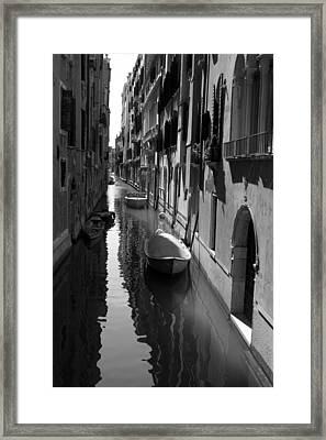 The Light - Venice Framed Print
