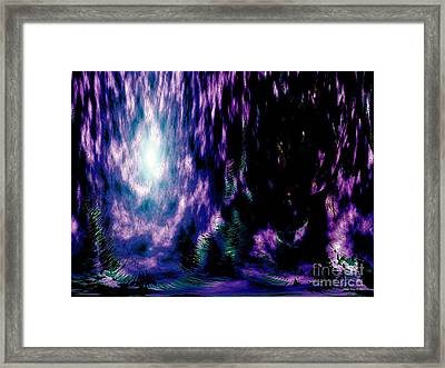 The Light Within Framed Print by Annie Zeno