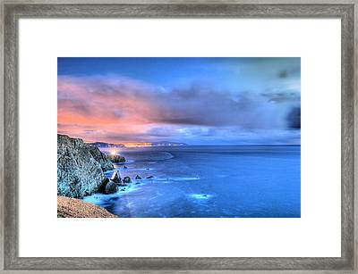 The Lighthouse Framed Print by JC Findley