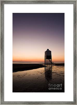 The Lighthouse On Legs Framed Print by Anne Gilbert