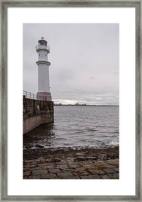 Framed Print featuring the photograph The Lighthouse by Sergey Simanovsky