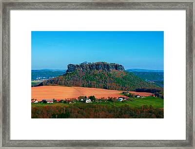 The Lilienstein Framed Print