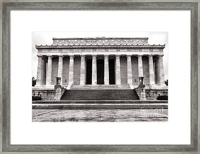 The Lincoln Memorial Framed Print