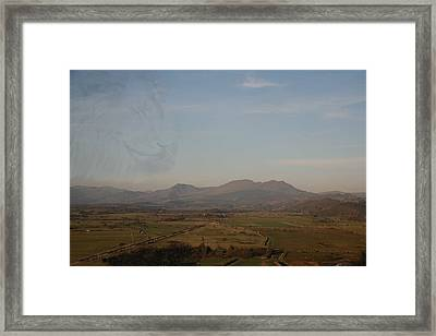 Framed Print featuring the photograph The Lion by Christopher Rowlands