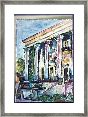 The Lion House Framed Print