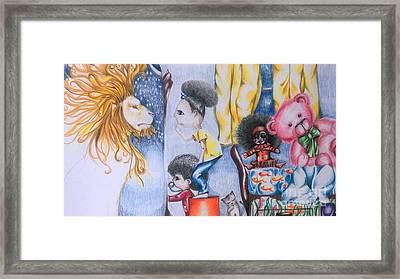Reflection Framed Print by Rhonda Falls
