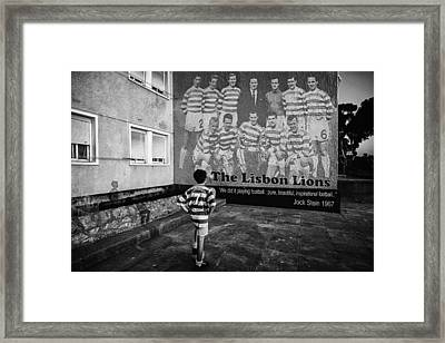 The Lisbon Lions Framed Print
