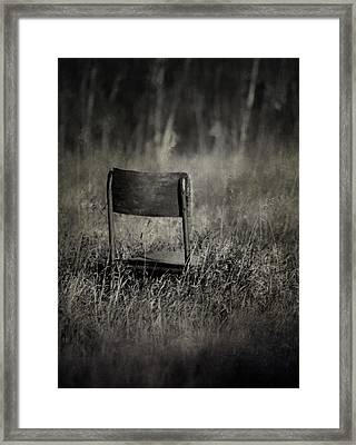The Listening Wind  Framed Print