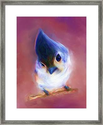 The Little Bird Framed Print by Dhouib Skander