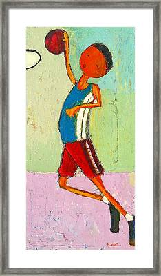 The Little Champion Framed Print