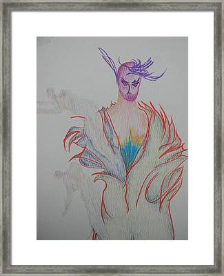 The Little Despot Framed Print by Marwan George Khoury