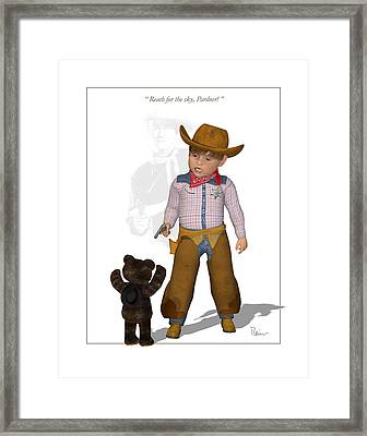 The Little Duke Framed Print