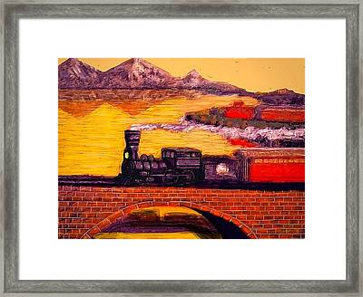 The Little Engine Framed Print