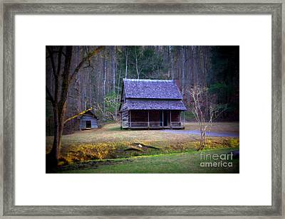 The Little House Framed Print