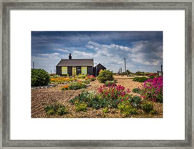 Framed Print featuring the photograph The Little House. by Gary Gillette