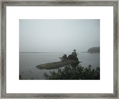 The Little Island Framed Print