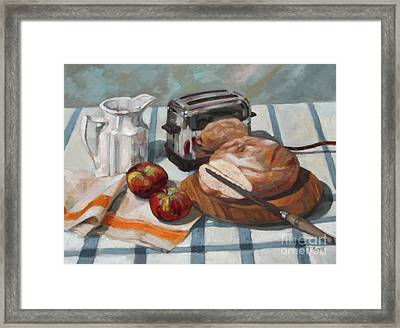 The Little Kenmore Toaster Framed Print by William Noonan