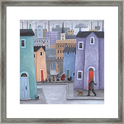 The Little Ones Framed Print by Peter Adderley