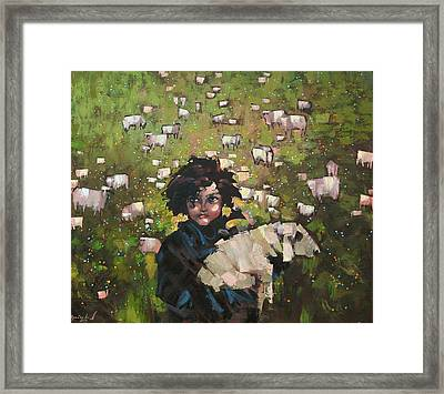 The Little Prince Framed Print by Anastasija Kraineva