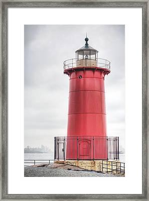The Little Red Lighthouse Framed Print