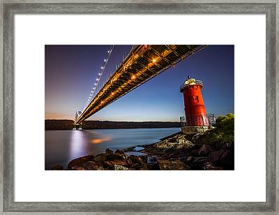The Little Red Lighthouse Framed Print