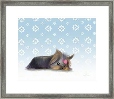 The Little Thinker  Framed Print by Catia Cho
