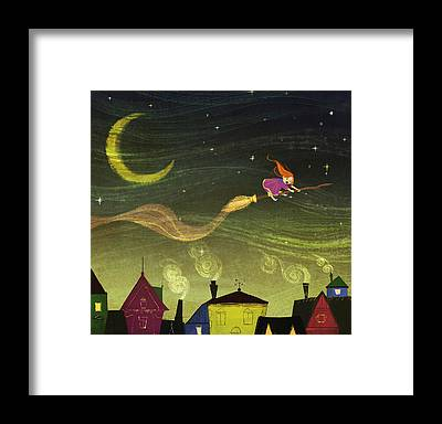 Witches Broom Framed Prints