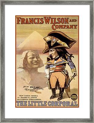 The Littler Corporal Framed Print