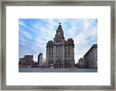 The Liver Buildings, Liverpool Framed Print by Panoramic Images