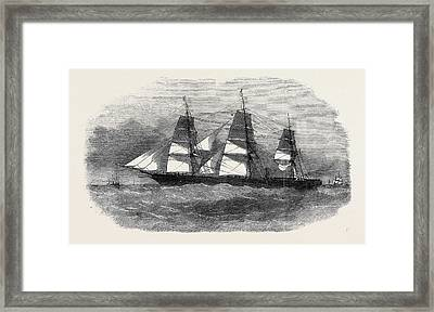 The Liverpool And Australian Steam Navigation Companys New Framed Print by Australian School