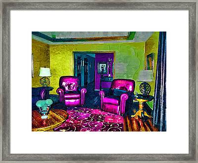 The Living Room Framed Print by Tyler Robbins