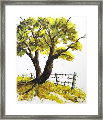 The Living Tree By Prankearts Framed Print