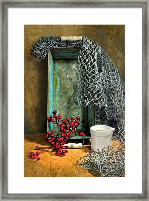 The Loaf Tin Framed Print by Diana Angstadt
