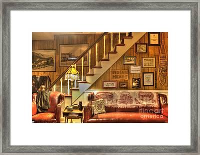 The Lobby Framed Print by Juli Scalzi