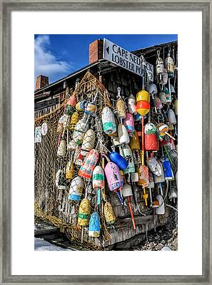 The Lobster Pound - Cape Neddick Maine Framed Print by Thomas Schoeller