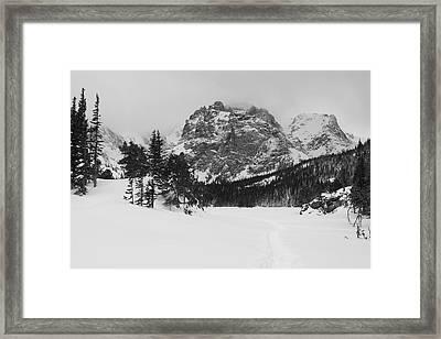 The Loch Framed Print by Eric Glaser