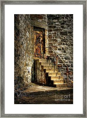 The Locked Door Framed Print by Lois Bryan