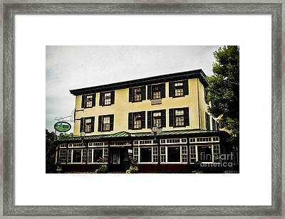 The Logan Inn Framed Print by Colleen Kammerer