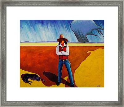 The Logic Of Solitude Framed Print by Joe  Triano