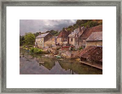 The Loir River Framed Print by Debra and Dave Vanderlaan