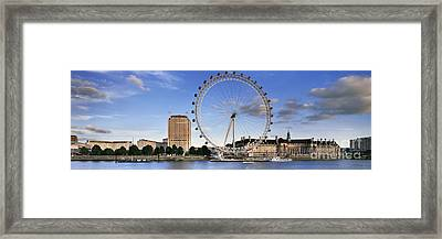 The London Eye Framed Print by Rod McLean