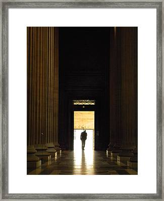 The Lonely Parisian Framed Print