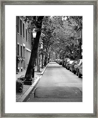 The Long And Narrow Framed Print by Kirt Tisdale
