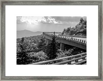 The Long And Winding Road Framed Print by Karen Wiles
