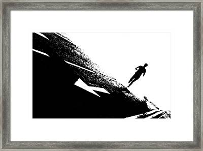 The Long Distance Runner Framed Print