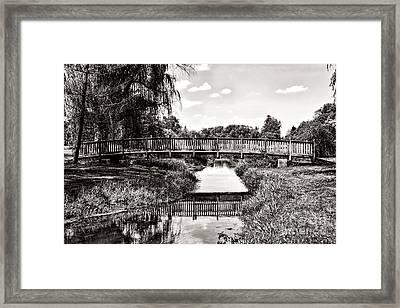 The Long Footbridge Framed Print