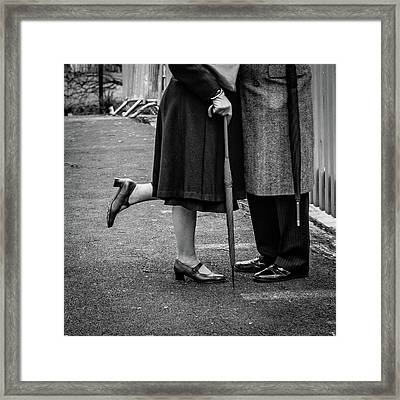 The Long Goodbye Framed Print